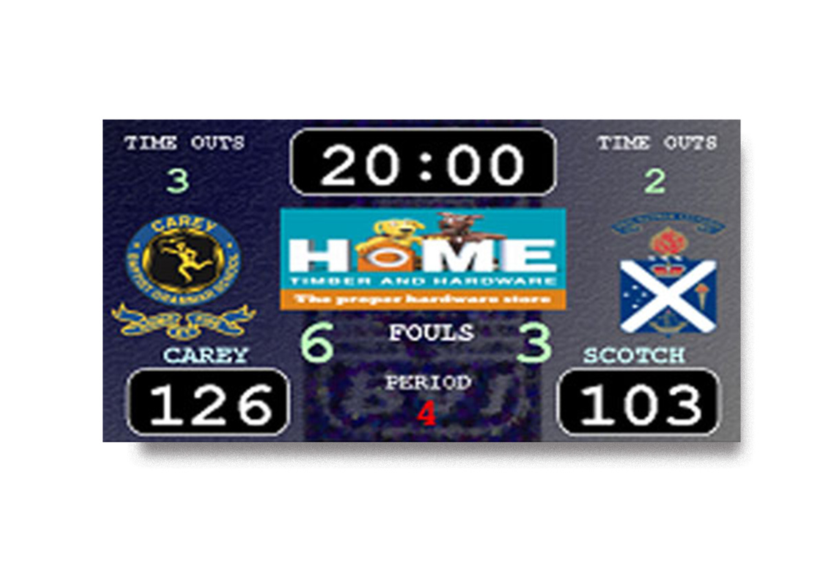 Blue Vane Scoreboards